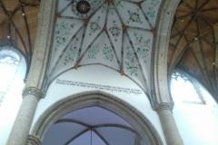 Mooie plafond schildering