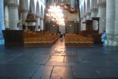 De kerk is erg groot