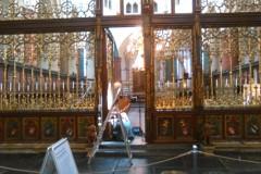 Restauratie koor gedeelte